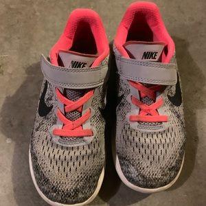 Little girls Nike's size 13.